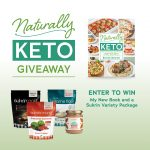 Naturally Keto Cookbook Holiday Giveaway with Sukrin
