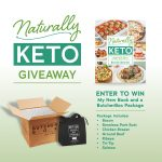 Naturally Keto Cookbook Holiday Giveaway with ButcherBox