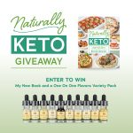 Naturally Keto Cookbook Giveaway with One on One Flavors