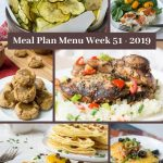 Low Carb Keto Meal Plan Menu Week 51