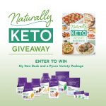 Naturally Keto Cookbook Giveaway with Pyure Products
