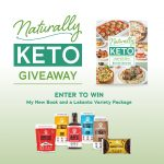 Naturally Keto Cookbook Giveaway with Lakanto
