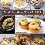 Low Carb Keto Meal Plan Menu Week 3