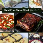 Low Carb Keto Meal Plan Menu Week 5