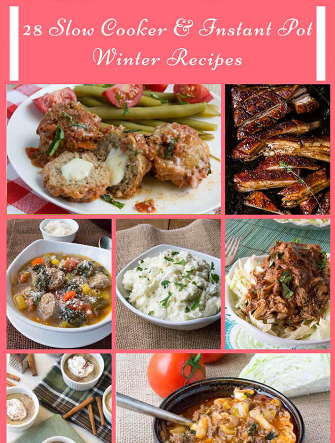 28 Slow Cooker & Instant Pot Winter Recipes