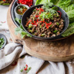 Keto Spicy Beef Lettuce Wraps