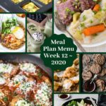 Sugar Free Low Carb Keto Meal Plan Menu Week 12