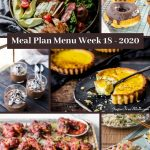 Low Carb Keto Meal Plan Menu Week 18