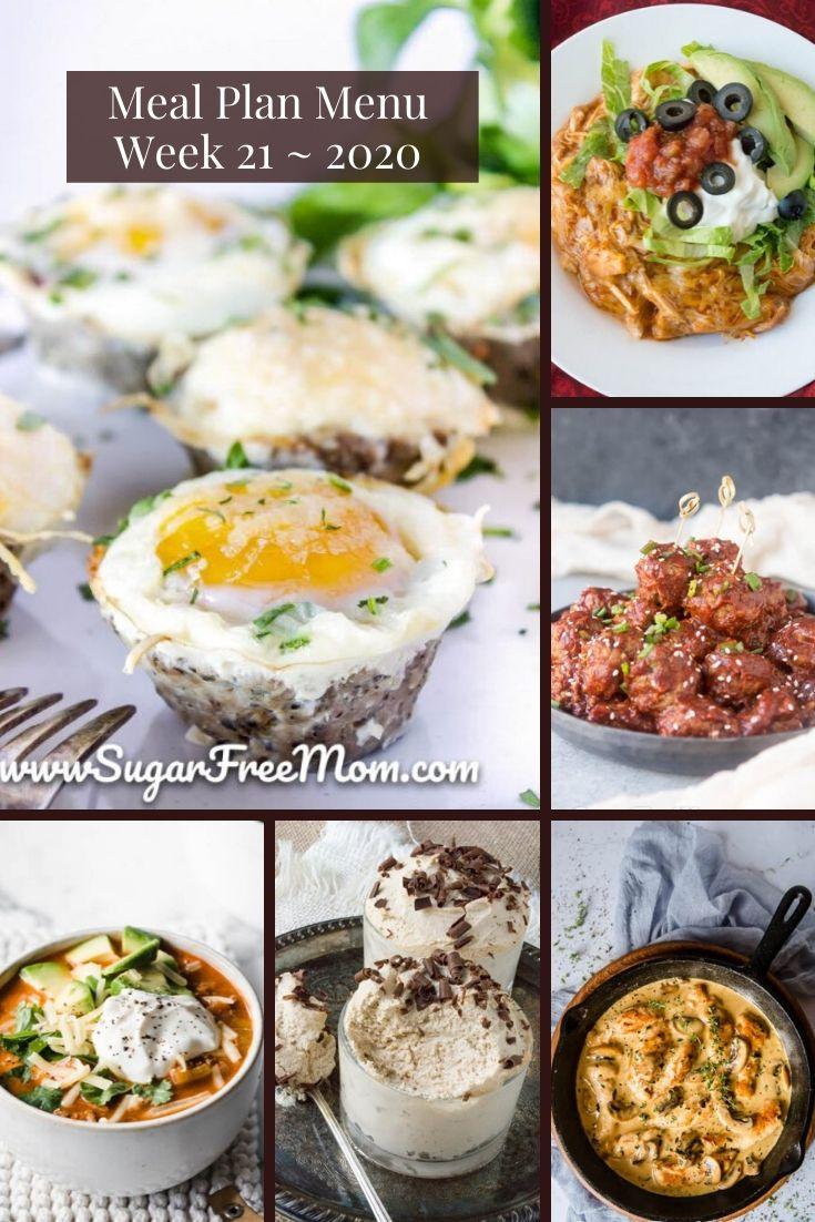 Photo of Low Carb Keto Meal Plan Menu Week 21
