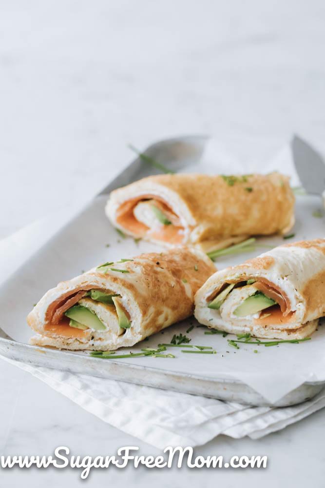 Photo of Keto Omelette Roll Ups