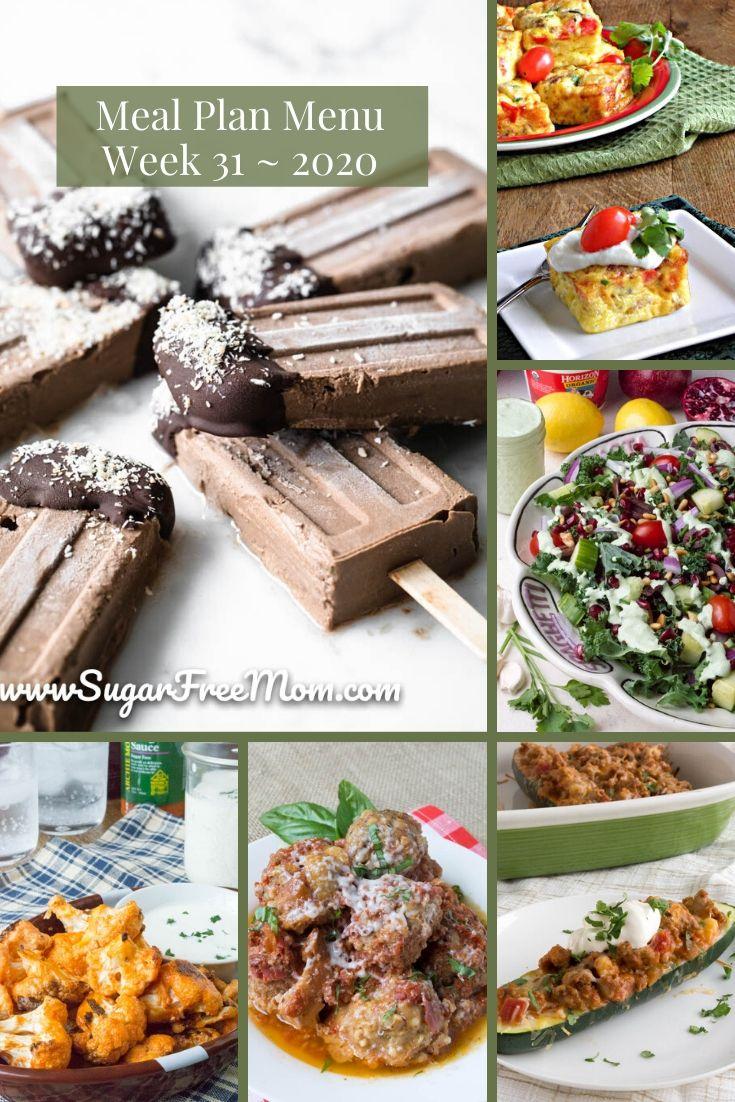 Semana 31 do plano de refeições com baixo teor de carboidratos 21