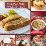 Low-Carb Keto Meal Plan Menu Week 42