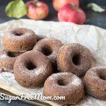 Sugar Free Keto Apple Cider Donuts (Nut Free, Paleo, Gluten Free)