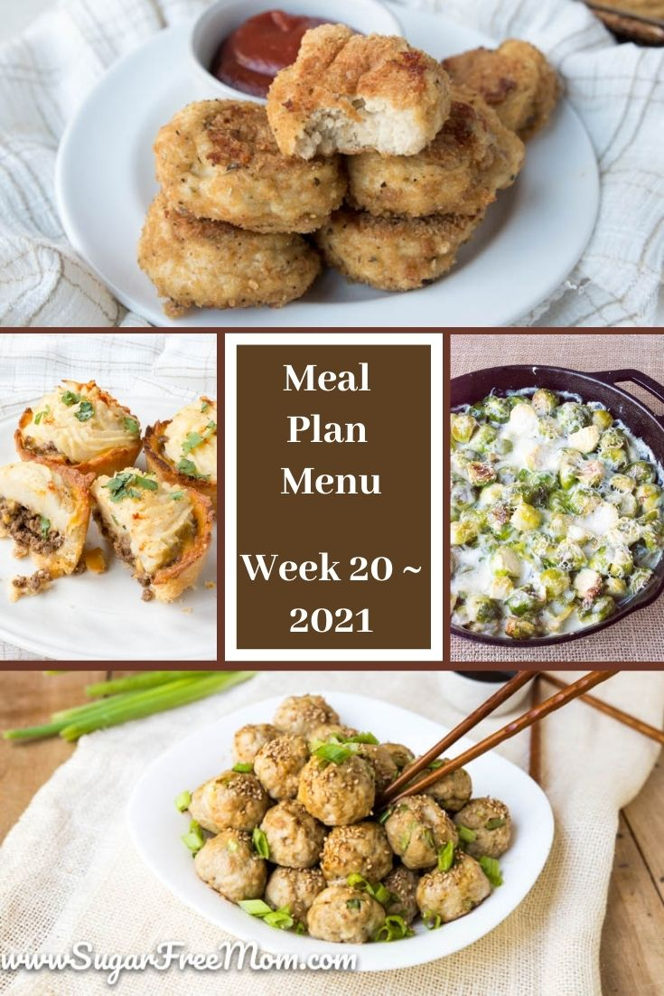 Low-Carb Keto Fasting Meal Plan Menu Week 20