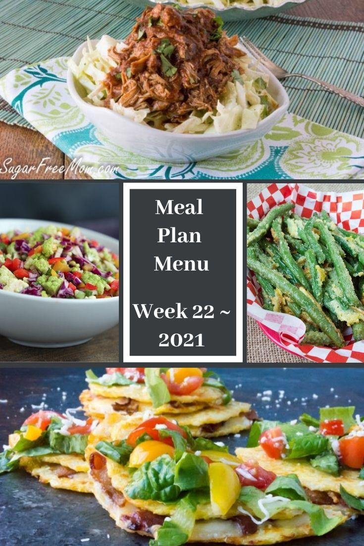 Low-Carb Keto Fasting Meal Plan Menu Week 22