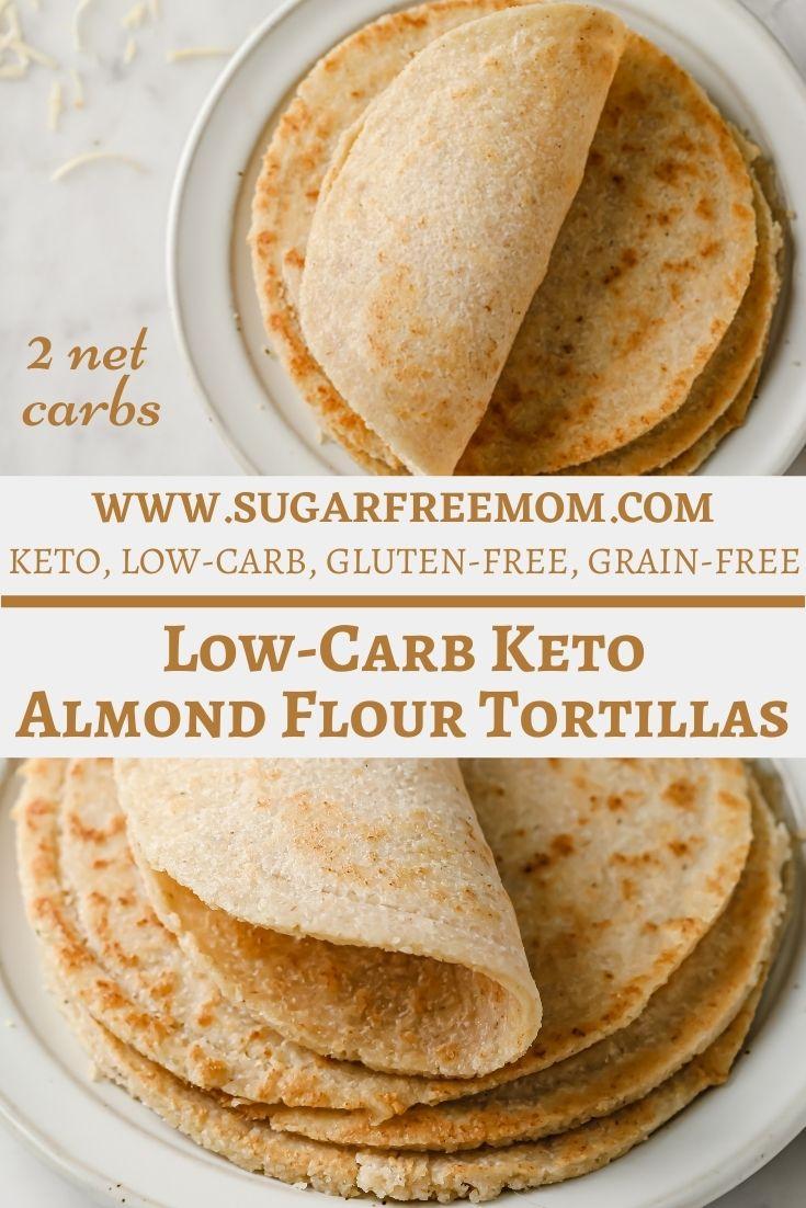 Low Carb Keto Almond Flour Tortillas (Paleo, Gluten Free)