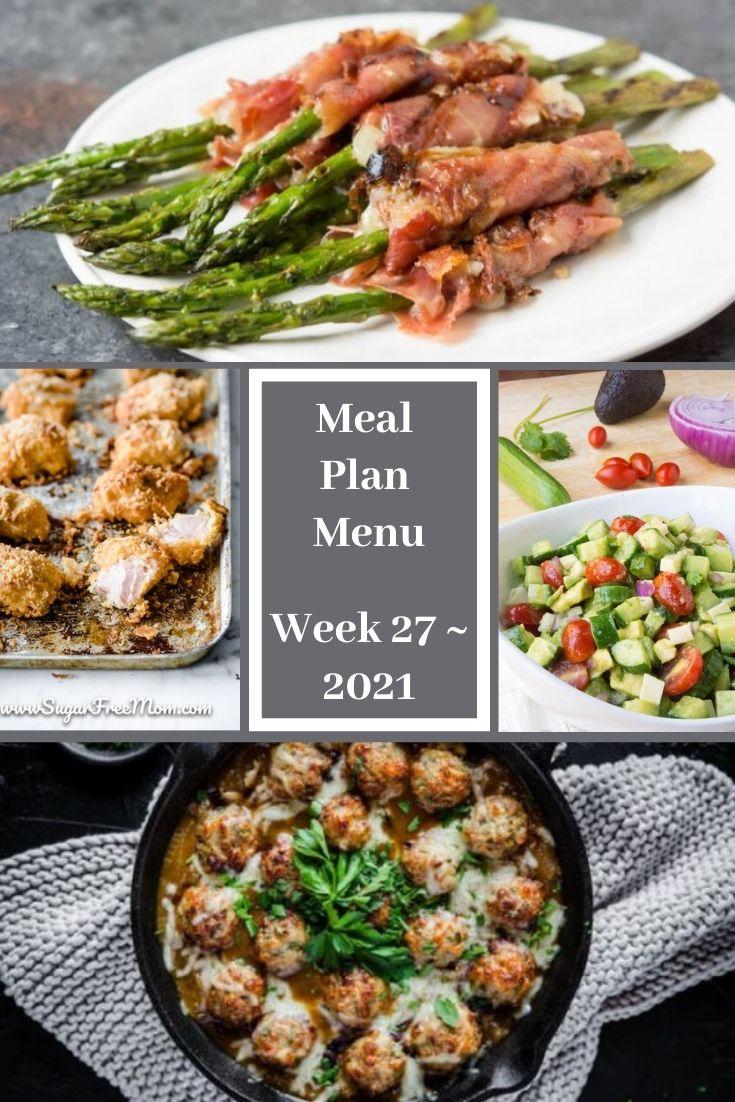 Low-Carb Keto Fasting Meal Plan Menu Week 27