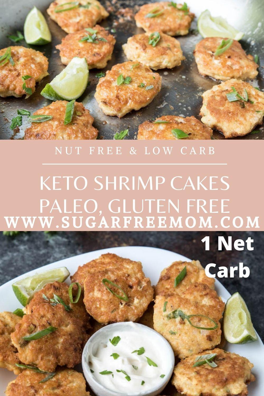 Keto Shrimp Cakes (Paleo, Gluten Free, Nut Free, Sugar Free)