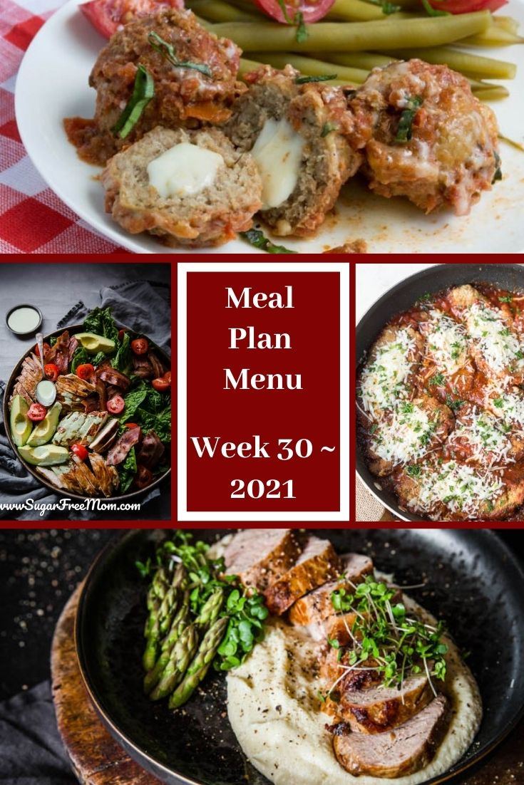 Low-Carb Keto Fasting Meal Plan Menu Week 30