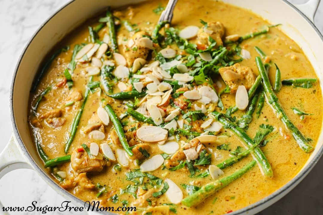 Dairy Free Keto Chicken Curry landscaped 2 1080px x