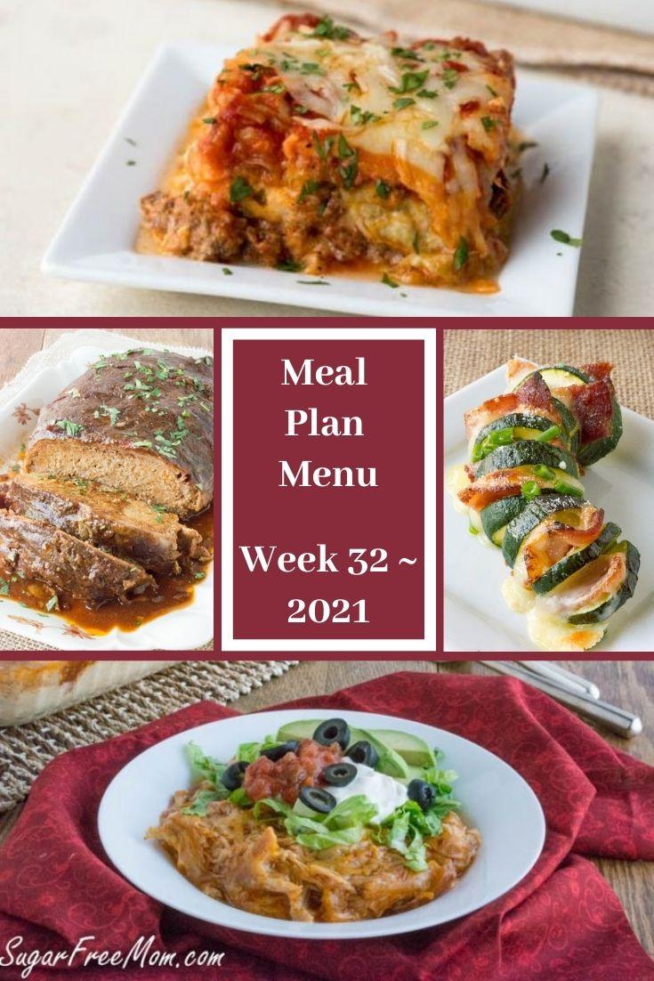 Low-Carb Keto Fasting Meal Plan Menu Week 32