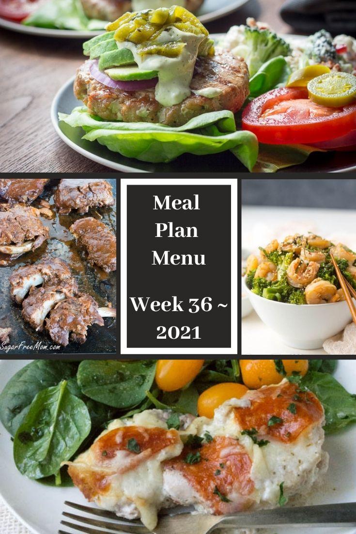 Low-Carb Keto Fasting Meal Plan Menu Week 36