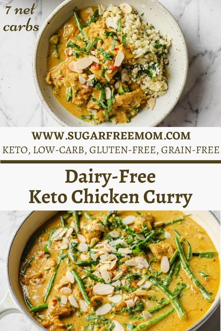 Dairy-Free Keto Chicken Curry