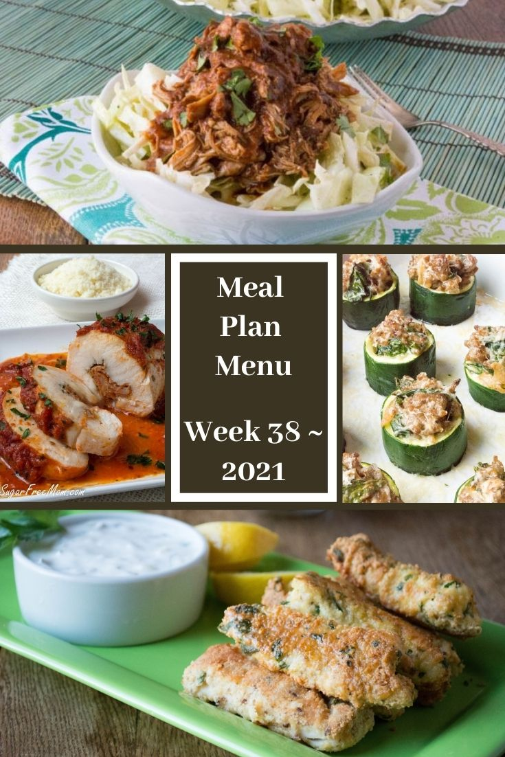 Low-Carb Keto Fasting Meal Plan Menu Week 38