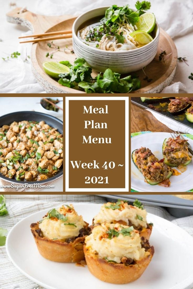 Low-Carb Keto Fasting Meal Plan Menu Week 40